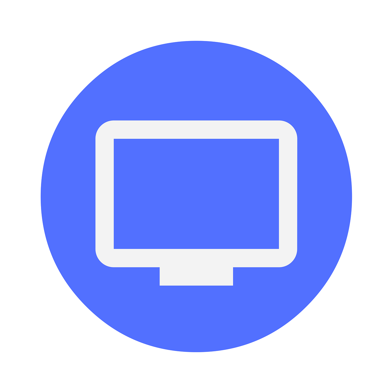 icon, monitor, desktop